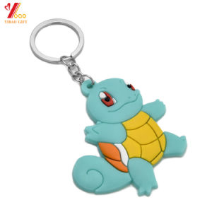 Customed Logo PVC Keychain, PVC Keyring for Promotion Gift pictures & photos