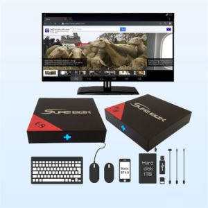 Android TV Box with Amlgoic, 1GB, 8GB Quad-Core, 4K*2K Video H. 265 IPTV pictures & photos