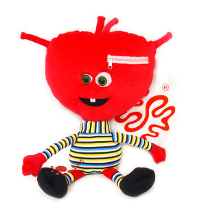 Plush Cartoon Movie Brain Doll pictures & photos