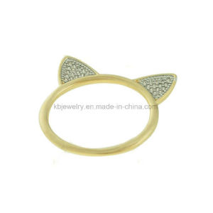 Silver Jewellery Latest Design Plated Finger Ring (KR5004) pictures & photos
