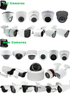 Plastic HD IP Camera Recorder DVR NVR with HDD pictures & photos