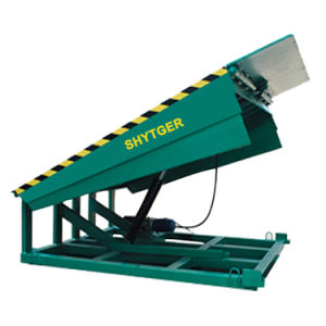 10ton Stationary Hydraulic Dock Ramp pictures & photos
