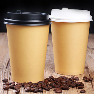 Flexo Printing 9oz PE Coated Paper Cup Custom Printed pictures & photos