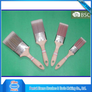Plain Wooden Handle Paint Brush pictures & photos