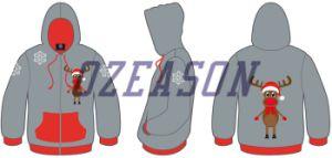 Custom Promotional Sportswear Advertising Printed Christmas Hoodies pictures & photos