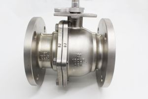 ANSI ASTM-CF8 CF8m 4inch Flange Ball Valve pictures & photos