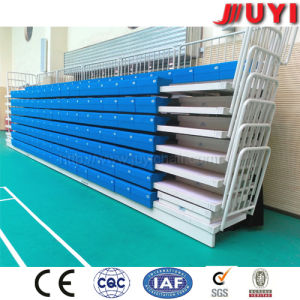 Jy-705 High Quality Rail Tip-up Basketball Mobile Grandstand Retractable Seats Grandstand pictures & photos