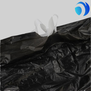 Eco Friendly HDPE Black Garbage Bag pictures & photos