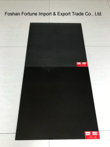 Ceramic Building Material Super Black Polished Porcelain Floor Tile 600X600mm 800X800mm pictures & photos