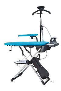 CE Approved Hanging Ironing/Iron Board with Steam Control (KB-1980A) pictures & photos