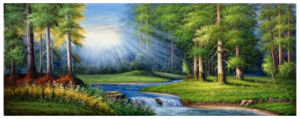 Factory Direct High Quality Landscape Oil Painting, Art Painting, Decoration Painting (Y225) pictures & photos