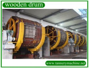 Ekki Wood Drum for Wool