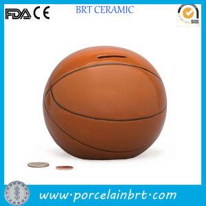Basketball Shaped Porcelain Money Saving Stash Jar pictures & photos