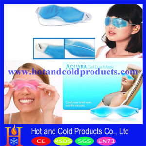 Liquid Filled PVC Eye Mask, Aqua Gel Eye Mask