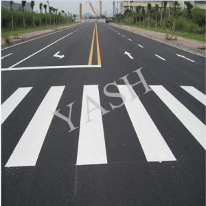 Reflective White Night Glow Thermoplastic Paint Marking Road