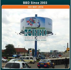 China Outdoor Circular Advertising Billboard Manufacturer