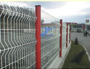 PVC Coated Curve Wire Mesh Fencing ISO9001: 2008 pictures & photos
