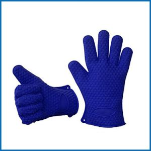 Silicone Hot Kitchen Pot Holder Glove Oven Mit (EB-93256-10) pictures & photos