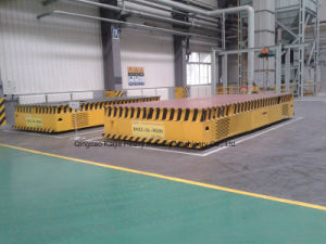 Trackless Electric Flatcar / Trackless Flactcar Supplier/Flatcars pictures & photos