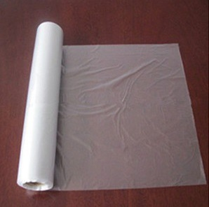 HDPE Transparent Flat Food Bags on Roll