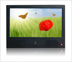 10inch LCD Media Advertising Player With Body Sensor Function