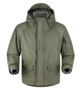 Military Waterproof and Breathable Parka for Cold Weather pictures & photos