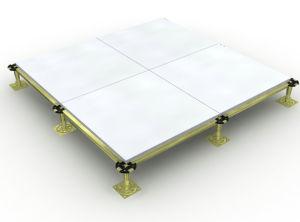 All-Steel, Aluminum Edge Bending as Above, Raised Floor