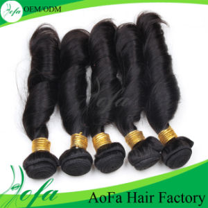 Wavy Cheap 100% Brazilian Hair for Spring Curl pictures & photos