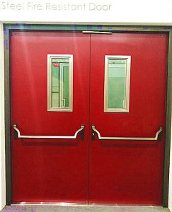 Steel Fire Door with 3.0 Hours UL Certified pictures & photos