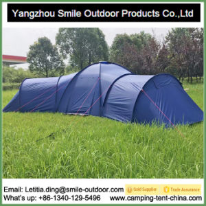 Family Vestibules Commercial Connectable Big Tent Living Tent Camping Tent pictures & photos
