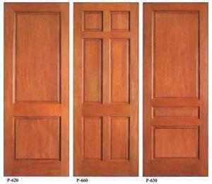 Interior Veneer Solid Wooden Door with Modern Style pictures & photos