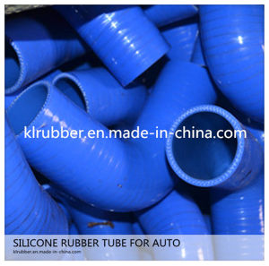 Heat Resistance 90 Degree Reducer Elbow Silicone Hose pictures & photos