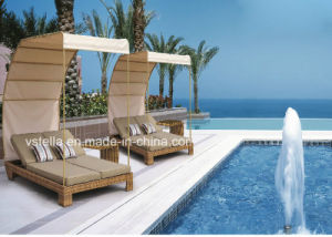 Garden Patio Rattan Wicker Outdoor Sunbed