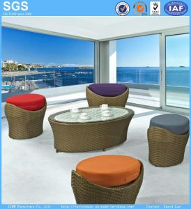 Resort Hotel Furniture Outdoor Balcony PE Rattan Furniture pictures & photos
