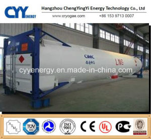 LNG Cryogenic Liquid Oxygen Nitrogen Argon Carbon Dioxide Tank Container pictures & photos