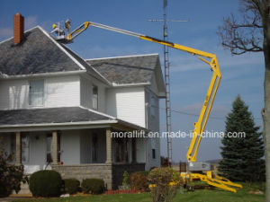 12m Working Height Electric Boom Lift pictures & photos