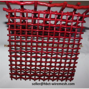 Stone Crusher Vibrating High Carbon Steel Double Crimped Screen Wire Mesh pictures & photos
