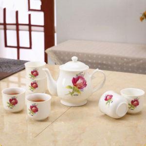 Fashion Design Elegant Tea Pot Ceramic Tea Set pictures & photos