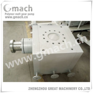 Gmach High Pressure Large Flow Rate Melt Gear Pump for Plastic Extruder pictures & photos