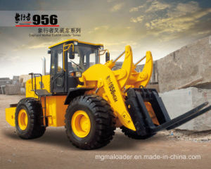 Mgm956 16t Forklift Loader with Cummings Engine