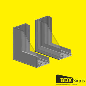 Scrolling Signs Waterproof Aluminum Profile for Outdoor Light Box - 160# pictures & photos