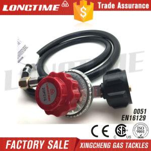High Pressure Adjustable LPG Gas Pressure Regulator with Hose pictures & photos