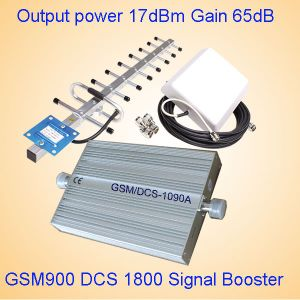 Mini Size Signal Booster Dual Band 900/1800MHz GSM Repeater St-1090A