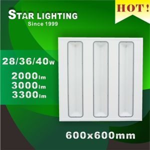 Hot Sale Indoor 40W 600X600 LED Grille Light pictures & photos