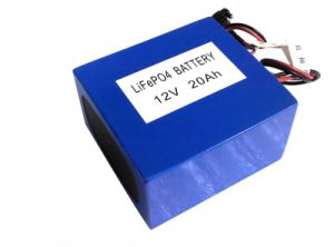 LiFePO4 Rechargeable Battery Pack, 26650 12.8V 20ah pictures & photos