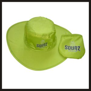 Promotional Customized Foldable Polyester Hats pictures & photos