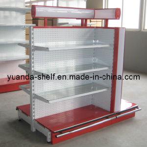 Steel Supermarket Goods Display Luxury Shelves pictures & photos