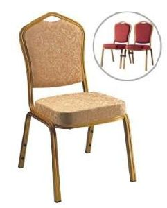 Stacking Aluminum Hotel Restaurant Wedding Banquet Chair (S1030)