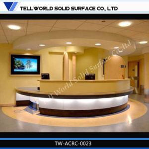 Tw Modern Design Small Curved Commercial Or Home Mini Bar Counter