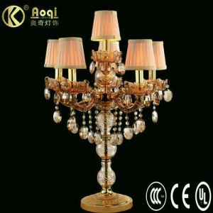 2011 Modern Design Crystal Table Lamp (AQ10403-6TG) pictures & photos